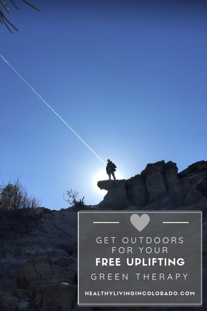 Get outdoors for your free green therapy - Healthy Living in Colorado