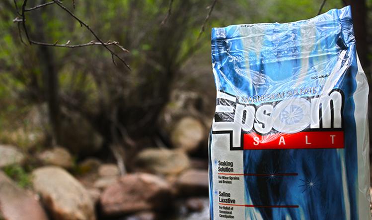 Epsom Salt for Natural Pain Relief