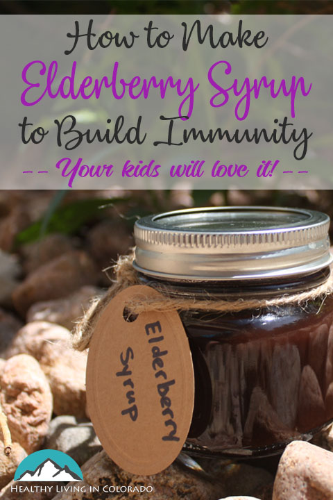 Make Healthy Elderberry Syrup