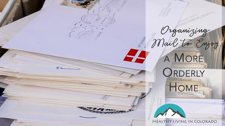 Organizing mail