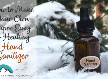 make your own healthy hand sanitizer