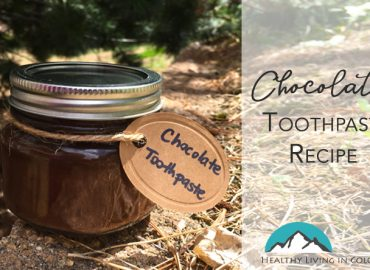 Chocolate Toothpaste recipe