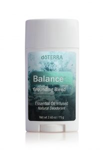 Natural Deodorant with doTERRA Balance New doTERRA Products