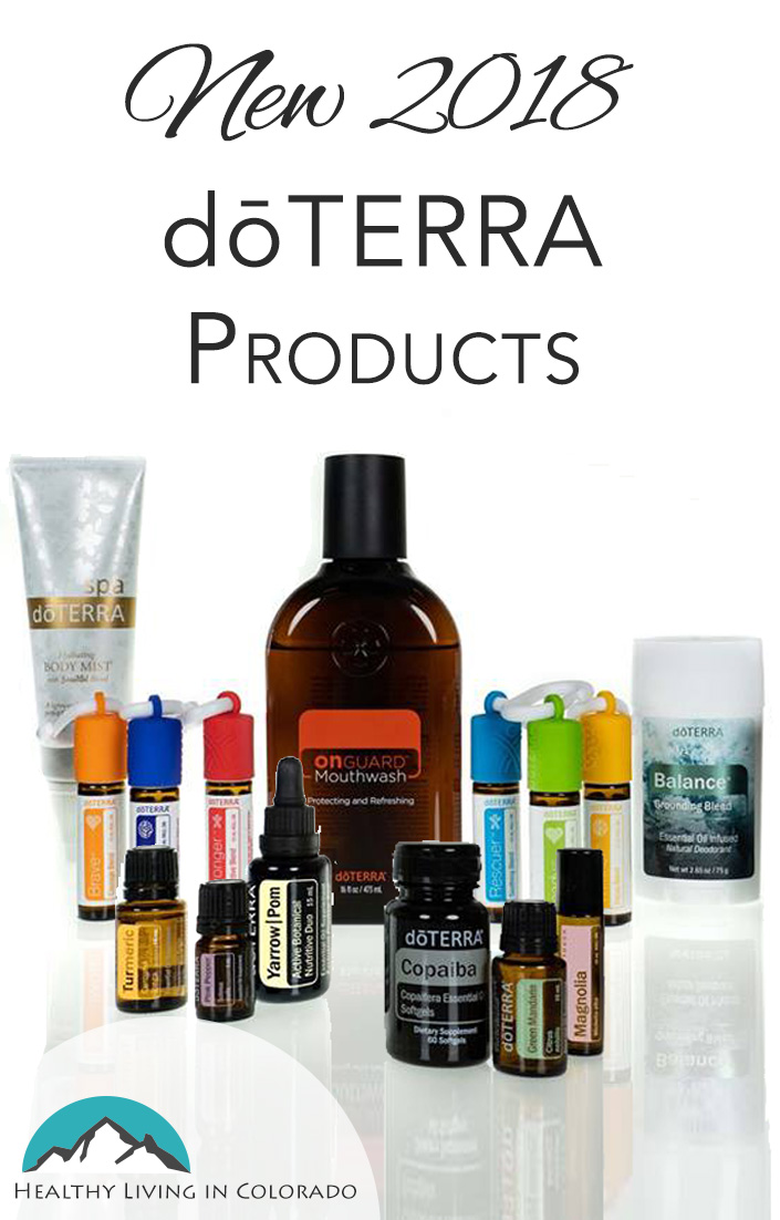 new 2018 doterra products