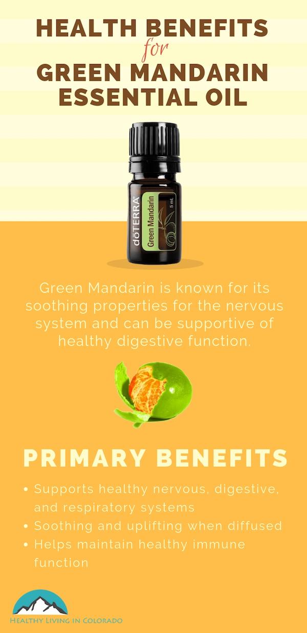 Health Benefits Of Green Mandarin Essential Oil Healthy Living In Colorado Llc