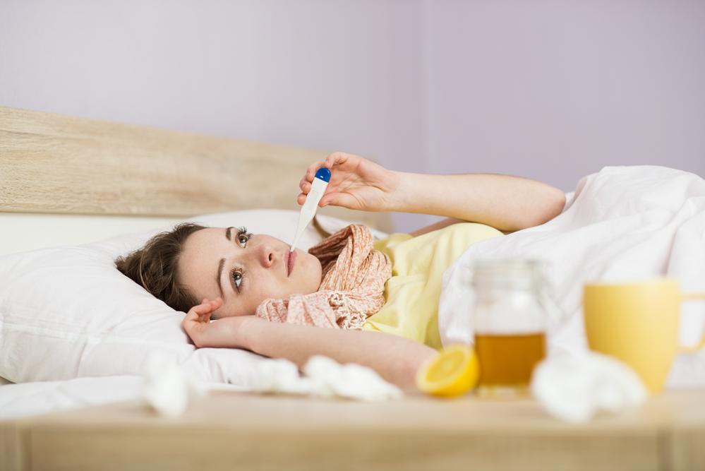Even Healthy Moms Get Sick
