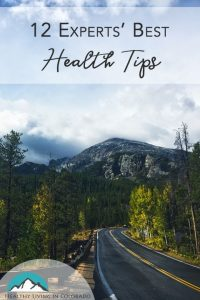 experts best health tips