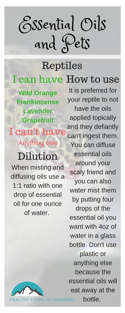 Essential Oils for Reptiles