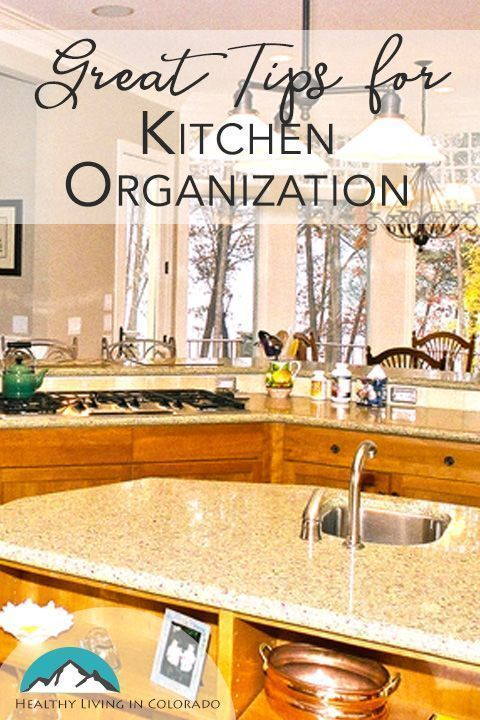 Great Tips for Kitchen Organization