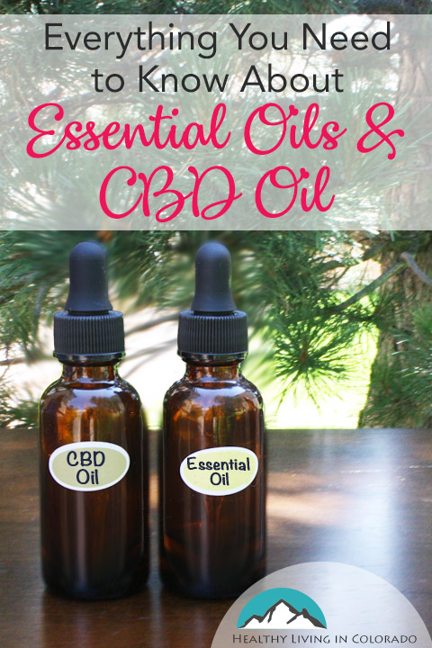 Information on Essential Oils and CBD Oil