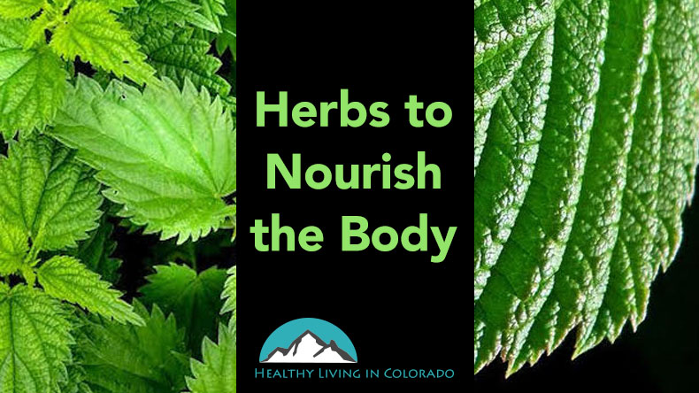 Herbs to Nourish the Body