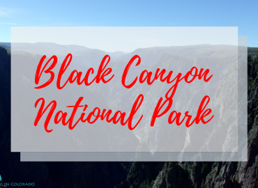Black Canyon of the Gunnison National Park He