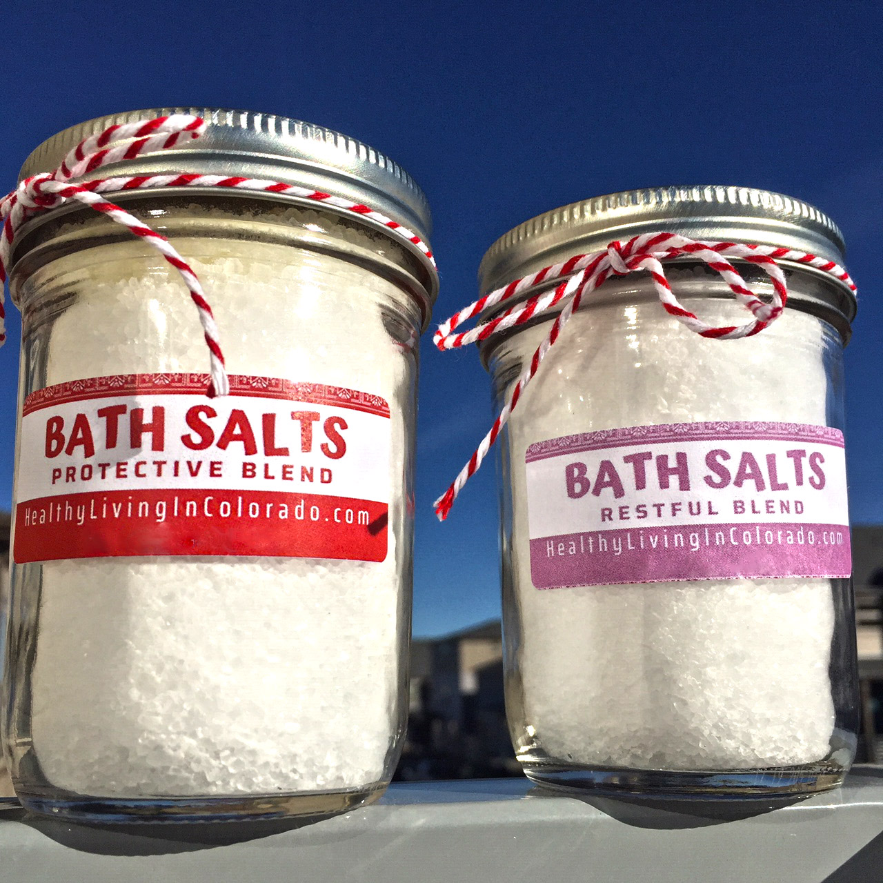 Essential Oil Bath Salts